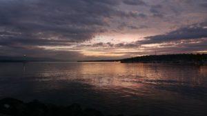 DETIENNE Nelly - 7h20 Sunrise lac Leman - Genève