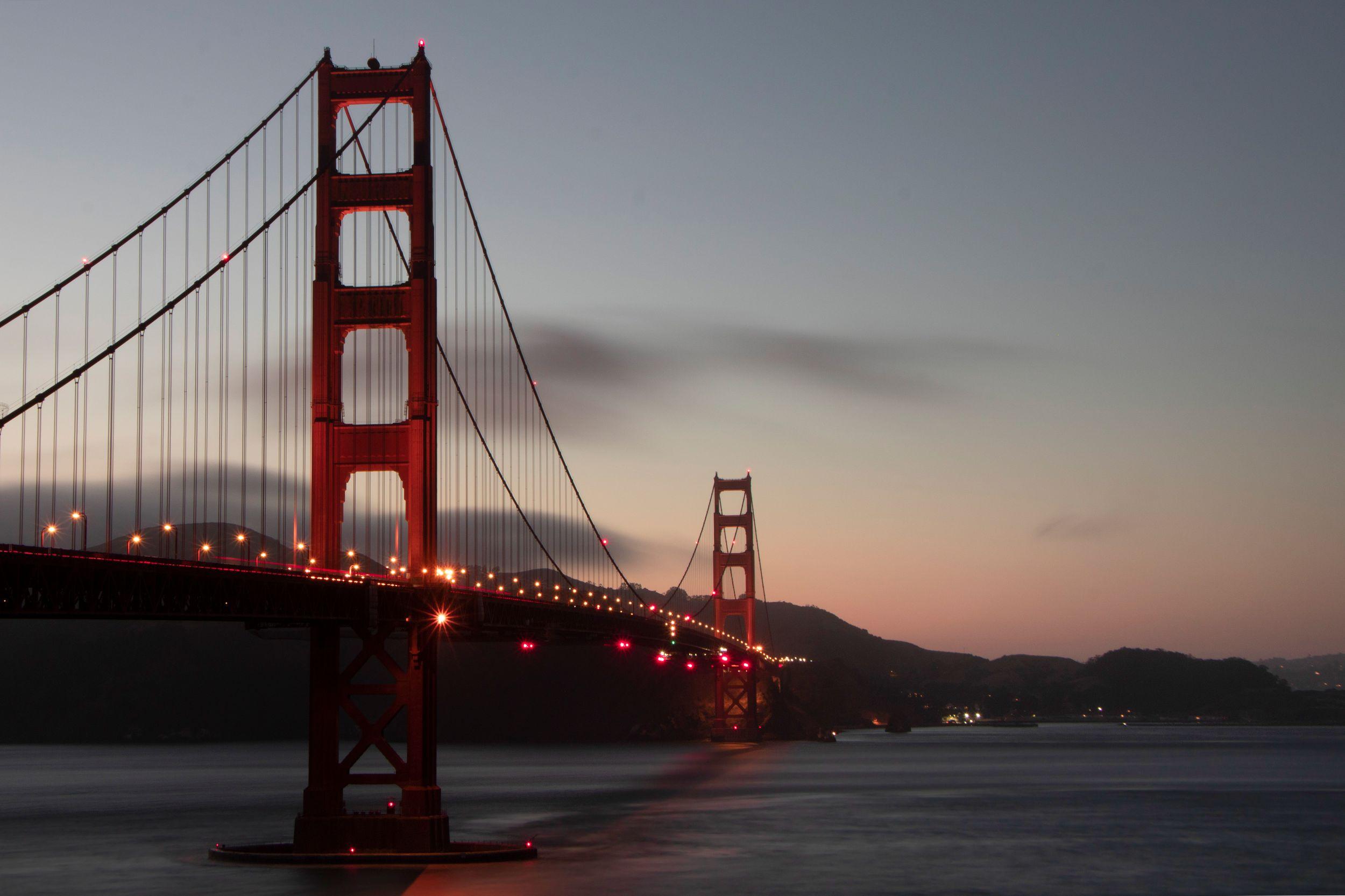 GLEIZER Baptiste - Golden Gate Bridge exposition longue